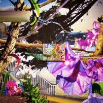 中田有美「不可能な自画像」インスタレーションビュー 2015年