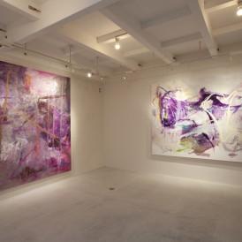 「紫、絵画。」Gallery G-77京都2016年会場風景