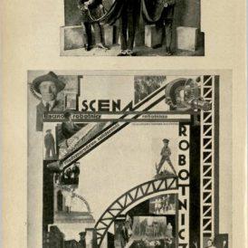 ポーランドの劇場のモンタージュ、1927年