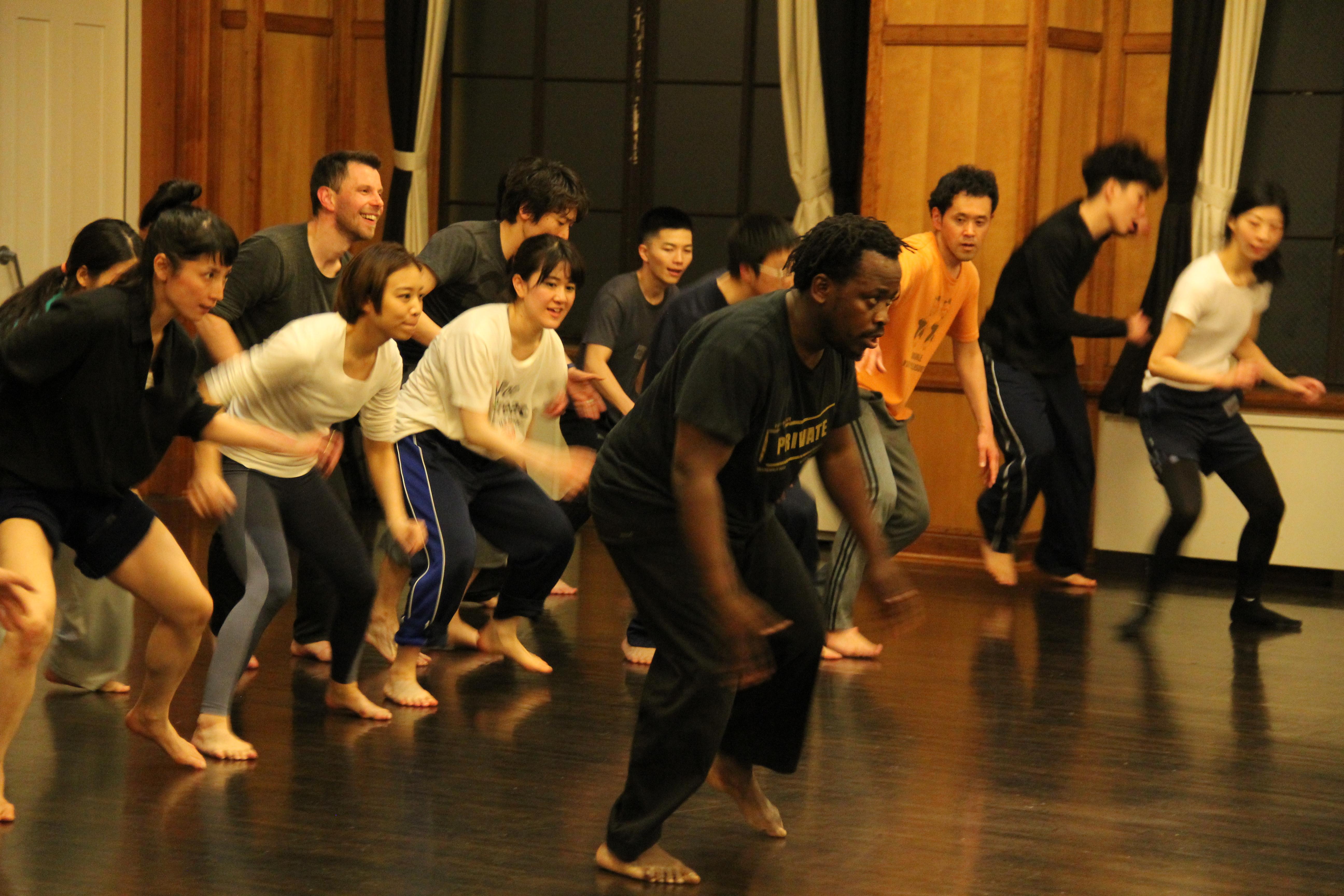 京都国際ダンスワークショップフェスティバル2019 ホラシオ・マクアクア