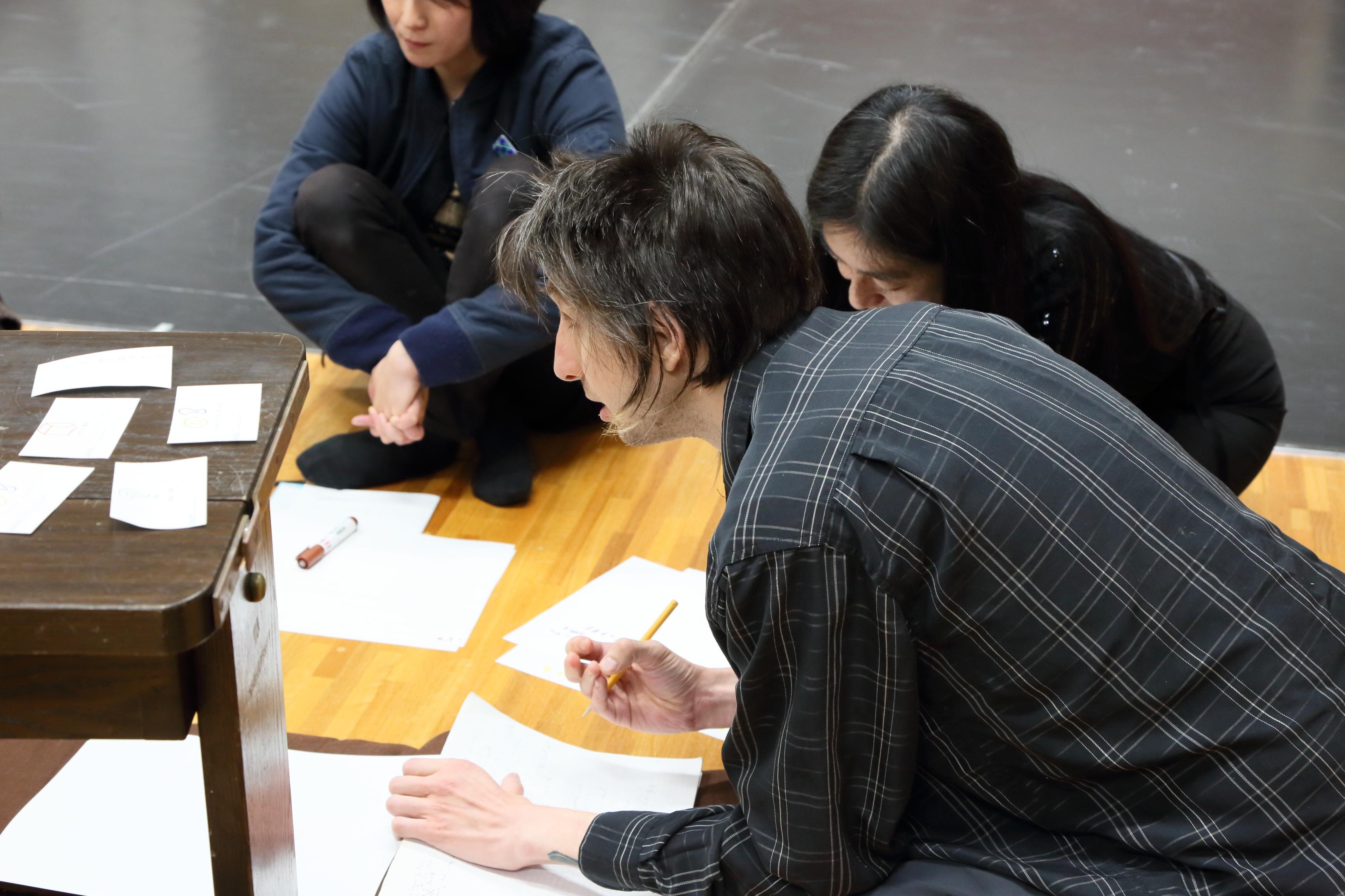 『KAC TRIAL PROGRAM Vol.1 DANCE ~若手振付家による作品制作~ 試演会』(2016)の様子