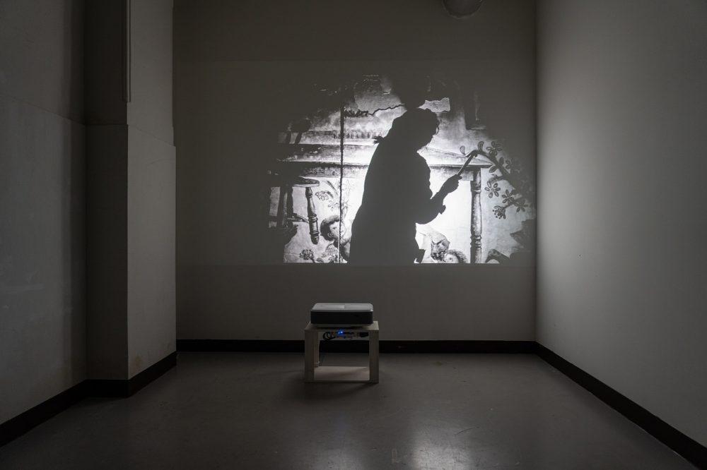 小嶋晶《食卓―イメージ―》、2021年、撮影:松見拓也