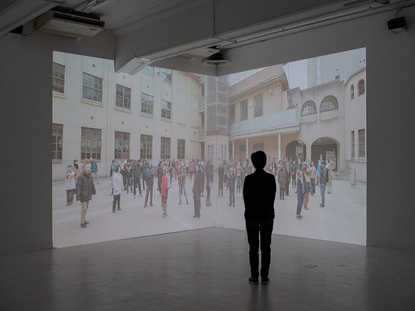 てんとうむしプロジェクト06『つながりの方程式』展示風景 2020<br /> 撮影:顧剣亨
