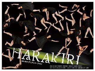「京都の暑い夏/Dance Scape」プロジェクト 『HARAKIRI』 2013年3月13日・14日