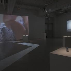 林勇気 《memories》 HDビデオ・プロジェクター・3Dプリント、7分、2016年 撮影:表恒匡