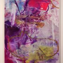 「重い星の死のために」       2013年/mixed media on canvas/259.0×194.0cm (撮影 田村和隆)
