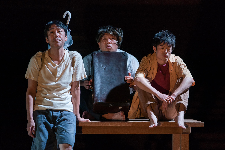 前回公演『ニューヘアスタイルイズグッド』 撮影:井上嘉和