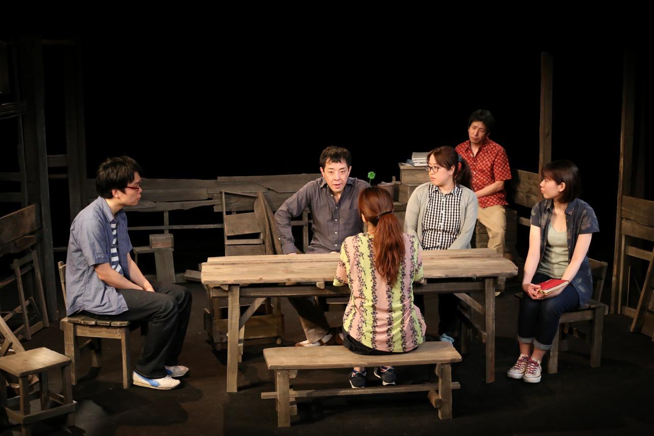 「緑の花」舞台写真