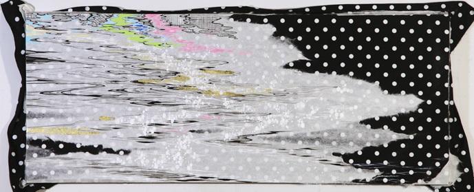 菅かおる 「snow-drops (kamogawa)」 2013年