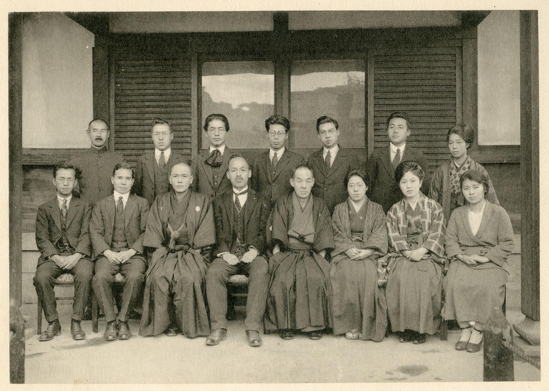 明倫小学校時代の集合写真