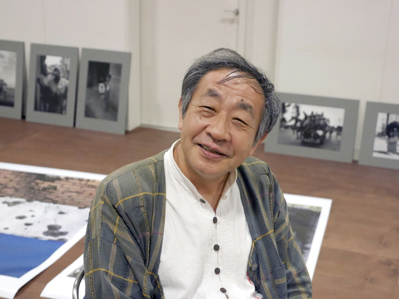 笛田宇一郎 Photo by  平野正樹