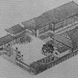 a panorama of Meirin Elem. Sch in 1887 (M.20)(source: the Meirin hundred‐anniversary issue)