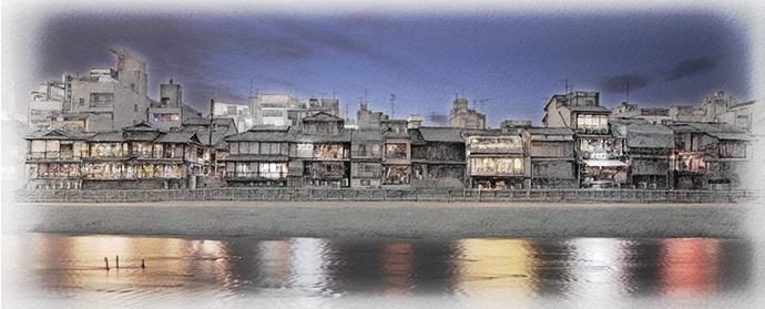 ヤマガミユキヒロ 「鴨川リバースケープ」 2013年